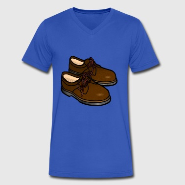 shoe - Men's V-Neck T-Shirt by Canvas