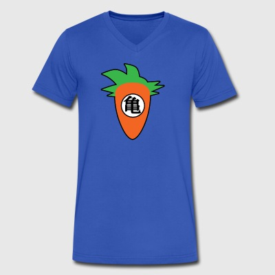 Goku Carrot - Men's V-Neck T-Shirt by Canvas