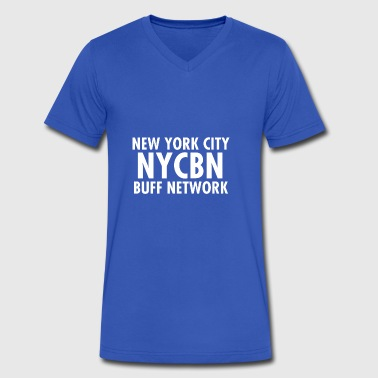 NYC BUFF Network - Men's V-Neck T-Shirt by Canvas