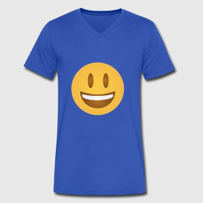 HAPPY - Men's V-Neck T-Shirt by Canvas
