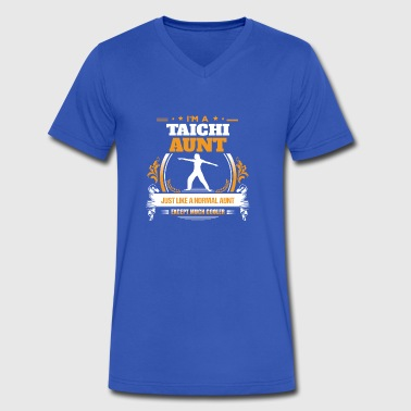 Taichi Aunt Shirt Gift Idea - Men's V-Neck T-Shirt by Canvas