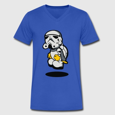 storm koopa troopa - Men's V-Neck T-Shirt by Canvas