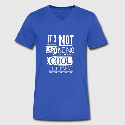 Cool Slogan - Men's V-Neck T-Shirt by Canvas