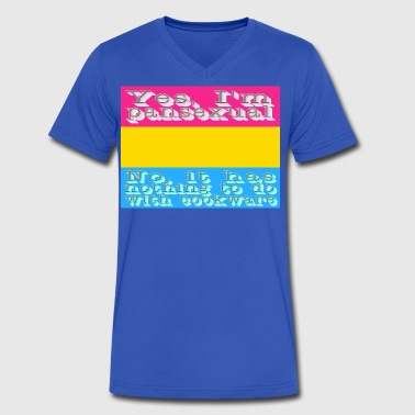 pansexual - Men's V-Neck T-Shirt by Canvas