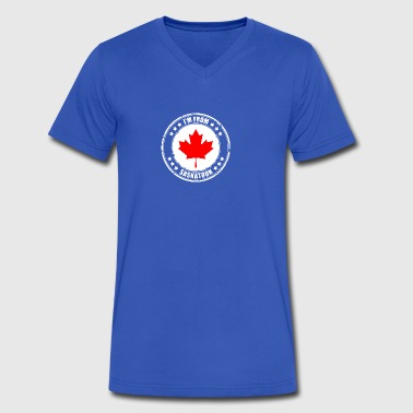 I'm from SASKATOON - Men's V-Neck T-Shirt by Canvas