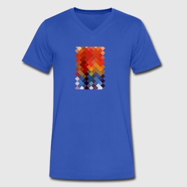 Colourful Pattern - Men's V-Neck T-Shirt by Canvas