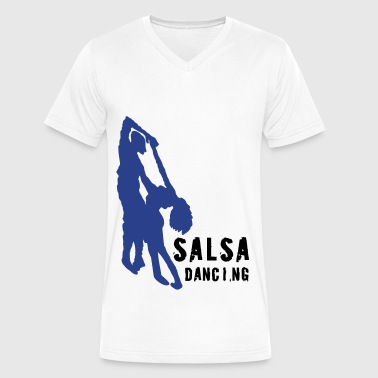 Salsa Dancing - Men's V-Neck T-Shirt by Canvas