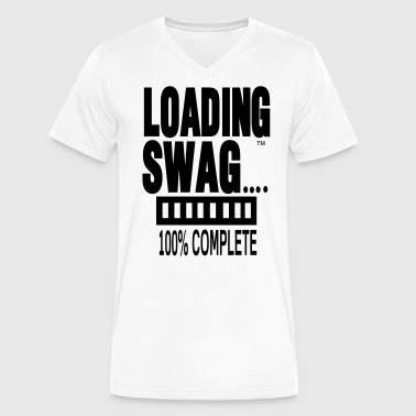 LOADING SWAG 100% COMPLETE - Men's V-Neck T-Shirt by Canvas