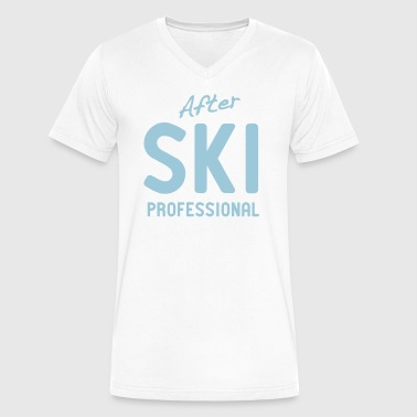 After Ski Professional - Men's V-Neck T-Shirt by Canvas