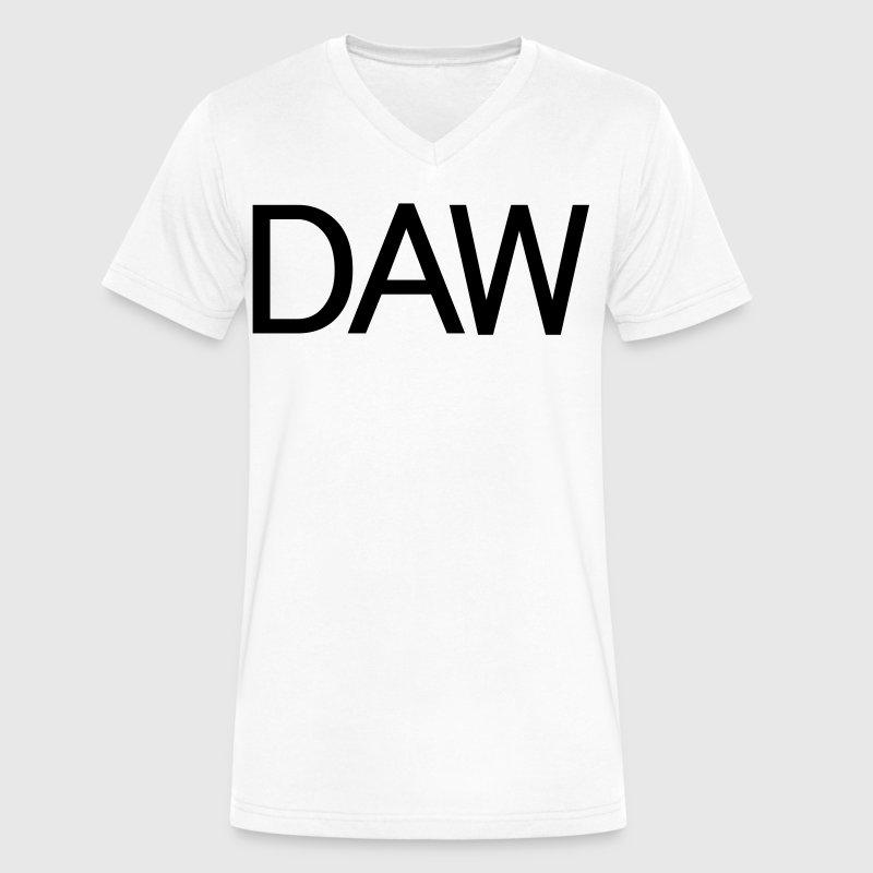 daw - Men's V-Neck T-Shirt by Canvas