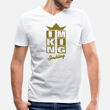 I Got Talent I.M. KING - Men's V-Neck T-Shirt by Canvas