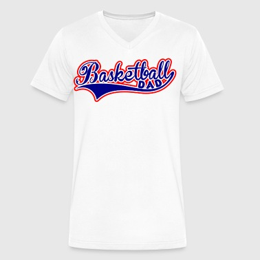 Basketball Dad - Men's V-Neck T-Shirt by Canvas
