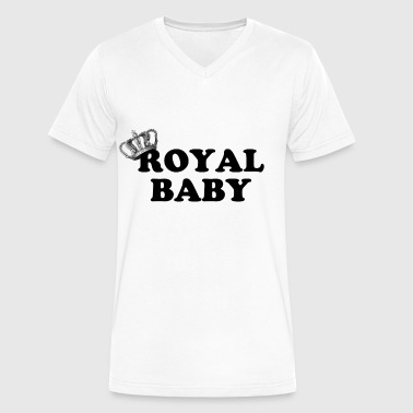 Royal Baby - Men's V-Neck T-Shirt by Canvas