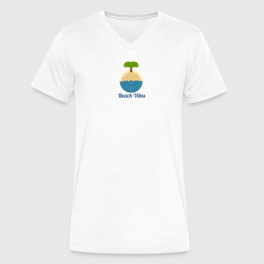 Beach Vibes Beach vibes - Men's V-Neck T-Shirt by Canvas