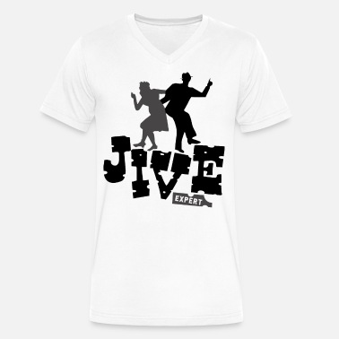 Jive Dance Jive Expert - Men's V-Neck T-Shirt by Canvas