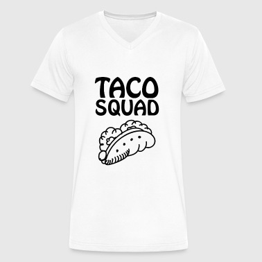 Taco Mexico Taco Squad, Love Tacos, Mexico - Men's V-Neck T-Shirt by Canvas