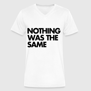 Release Date Nothing Was The Same - Men's V-Neck T-Shirt by Canvas