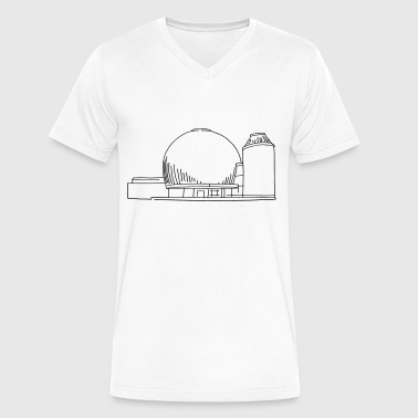 Prenzlauer Berg Planetarium Berlin - Men's V-Neck T-Shirt by Canvas