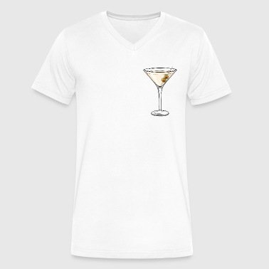 Dry Martini - Men's V-Neck T-Shirt by Canvas
