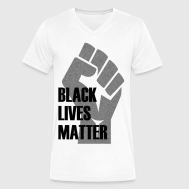 Black-lives-matter-protest BLACK LIVES MATTER - Men's V-Neck T-Shirt by Canvas