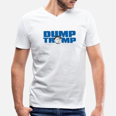 Dump Trump Dump Trump - Men's V-Neck T-Shirt