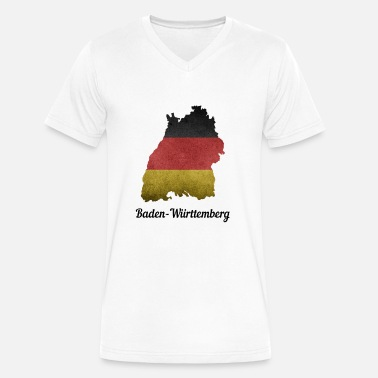 Mannheim Baden Württemberg Germany Home Stuttgart - Men's V-Neck T-Shirt by Canvas
