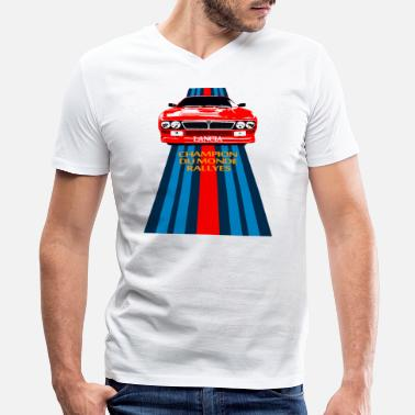 037 Rally champion du monde - Men's V-Neck T-Shirt by Canvas