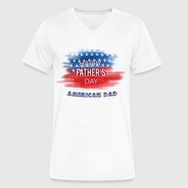 Father Gift Idea Fathers Day Gift Idea - Men's V-Neck T-Shirt by Canvas