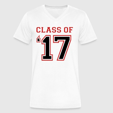 Class of 2017 - Class of 17 - Men's V-Neck T-Shirt by Canvas