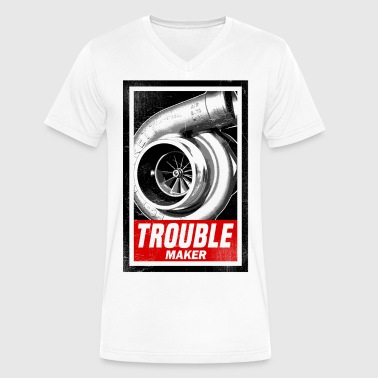 BOOST TROUBLE MAKER  - Men's V-Neck T-Shirt by Canvas