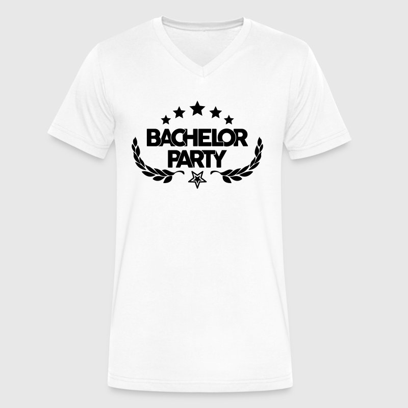 bachelor party - marriage - wedding - game over - Men's V-Neck T-Shirt by Canvas