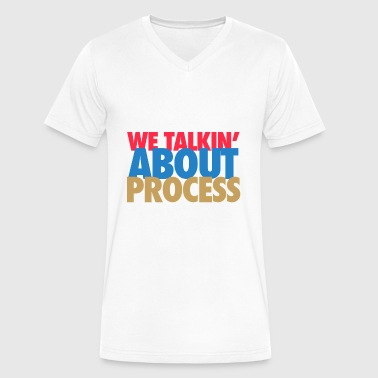 Sixers we taling about process - Men's V-Neck T-Shirt by Canvas