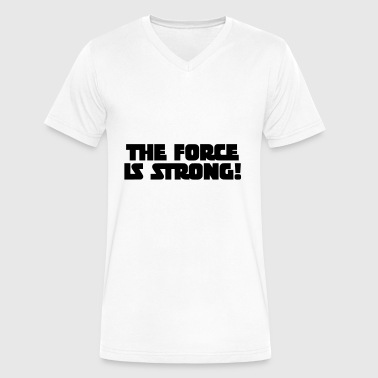 The Force Force - Men's V-Neck T-Shirt by Canvas