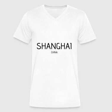 shanghai - Men's V-Neck T-Shirt by Canvas