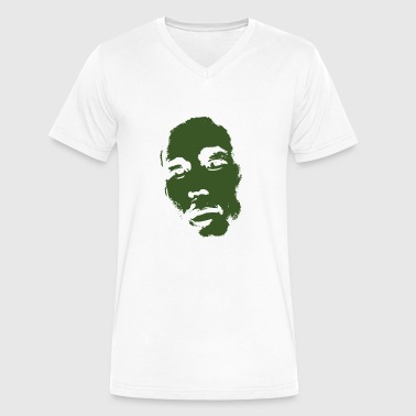 Bob Marley - One Love - Men's V-Neck T-Shirt by Canvas