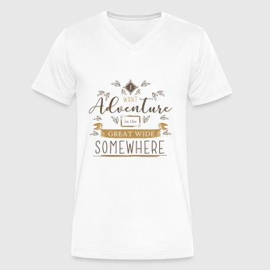 Beauty Beast Beauty And The Beast - Beauty And The Beast Quot - Men's V-Neck T-Shirt by Canvas