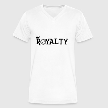 Royalty [BLACK] - Men's V-Neck T-Shirt by Canvas