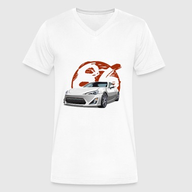 Gt86 gt86 - Men's V-Neck T-Shirt by Canvas