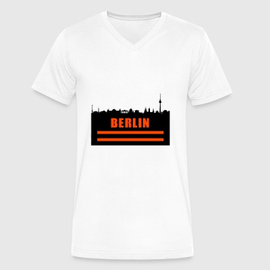 Prenzlauer Berg Berlin - Men's V-Neck T-Shirt by Canvas