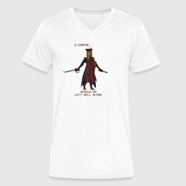 Lady Maria - Men's V-Neck T-Shirt by Canvas