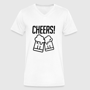 Cheers - Men's V-Neck T-Shirt by Canvas
