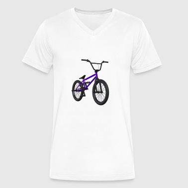 """bmx Life"" bmx is life - Men's V-Neck T-Shirt by Canvas"