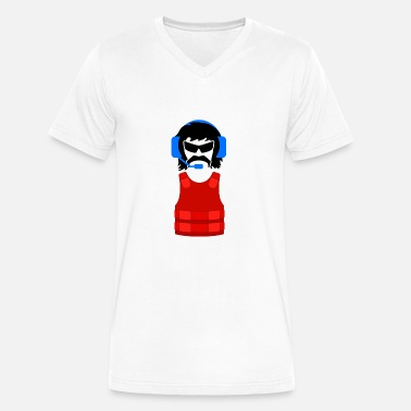 Dr.Disrespect Shroud Gaming PC PUBG Gift - Men's V-Neck T-Shirt by Canvas