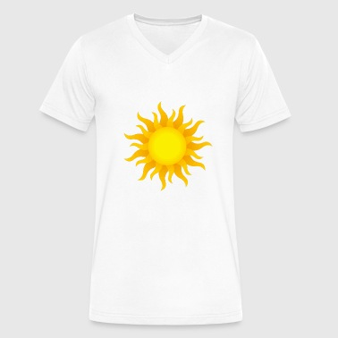 Sunny Heights sunny - Men's V-Neck T-Shirt by Canvas