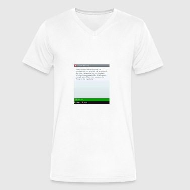 Banned - Men's V-Neck T-Shirt by Canvas