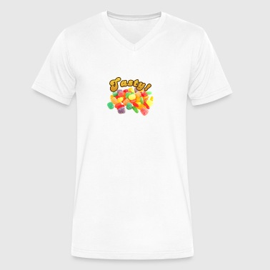 Tasty - Men's V-Neck T-Shirt by Canvas