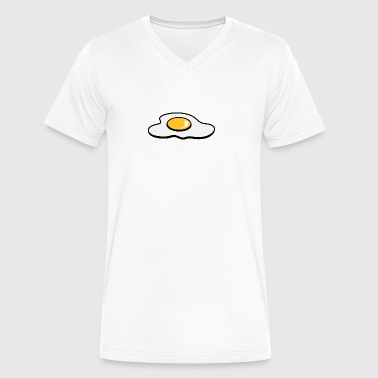 Pan Fried Egg A Fried Egg - Men's V-Neck T-Shirt by Canvas