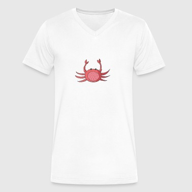 crab - Men's V-Neck T-Shirt by Canvas