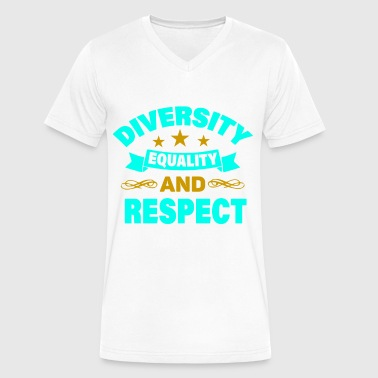 Diversion Diversity - Men's V-Neck T-Shirt by Canvas