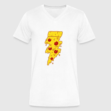 Flash Game FLASH FOOD - Men's V-Neck T-Shirt by Canvas